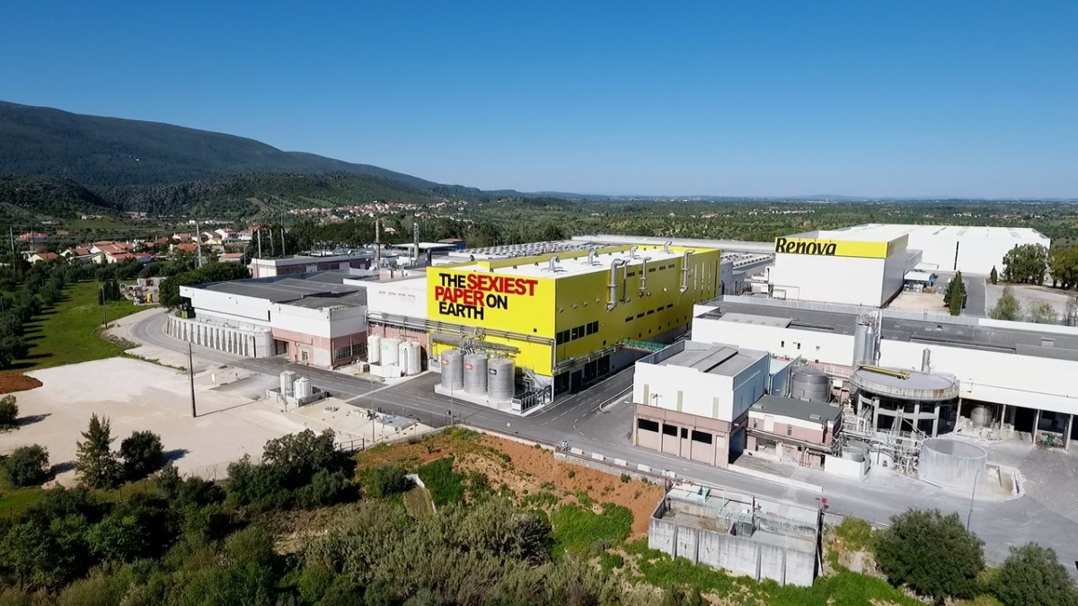 Renova's paper processing factory in Portugal