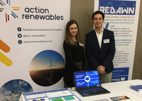 REDAWN's stand at NI Water Event